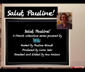 Salut Pauline